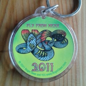 2011 key ring