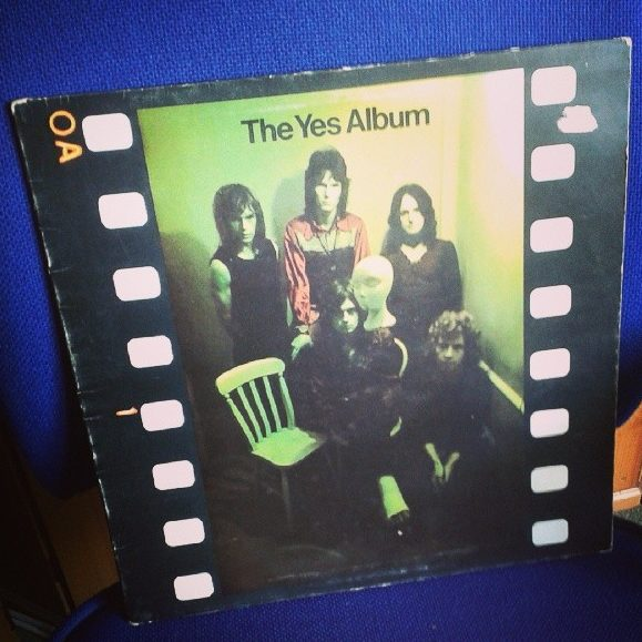 £2 for original gatefold The Yes Album from a narrow boat seller in Stratford