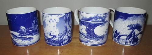 Joseph Cottrell's Roger Dean cups!