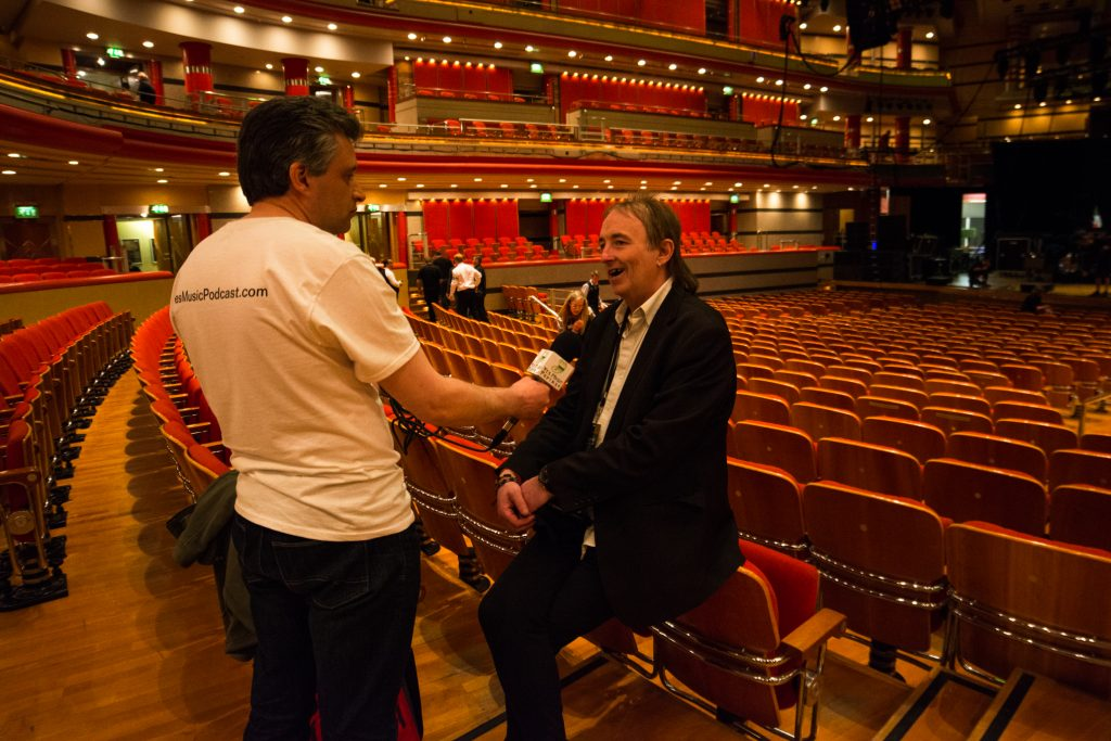 Kevin interviewing Jon Kirkman