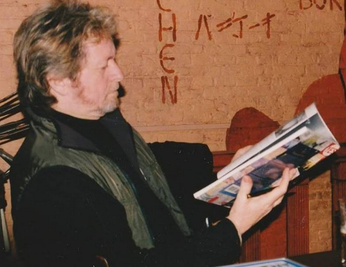 Jon Anderson reading Dave Watkinson's book, 'Perpetual Change'.