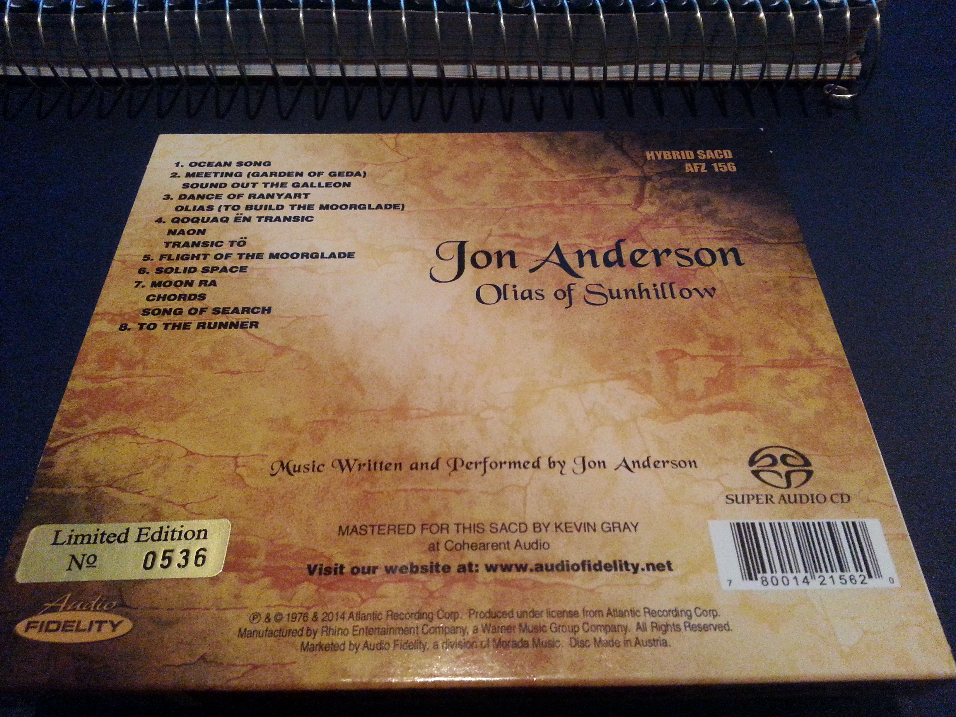 Olias of Sunhillow by Jon Anderson – 254 – Yes Music Podcast