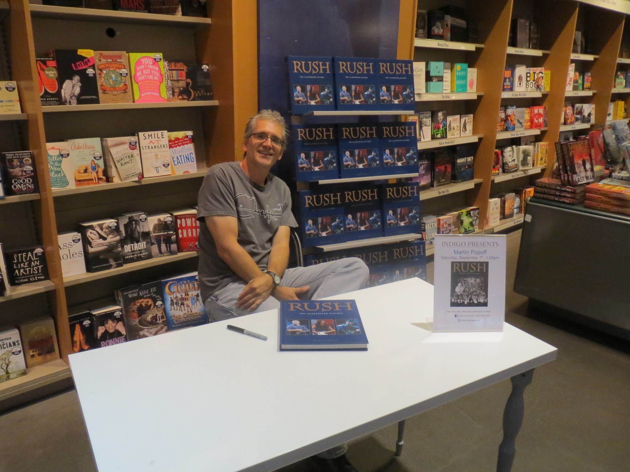 Martin Popoff Yes Author Interview plus Rick Wakeman CD give-away! 268