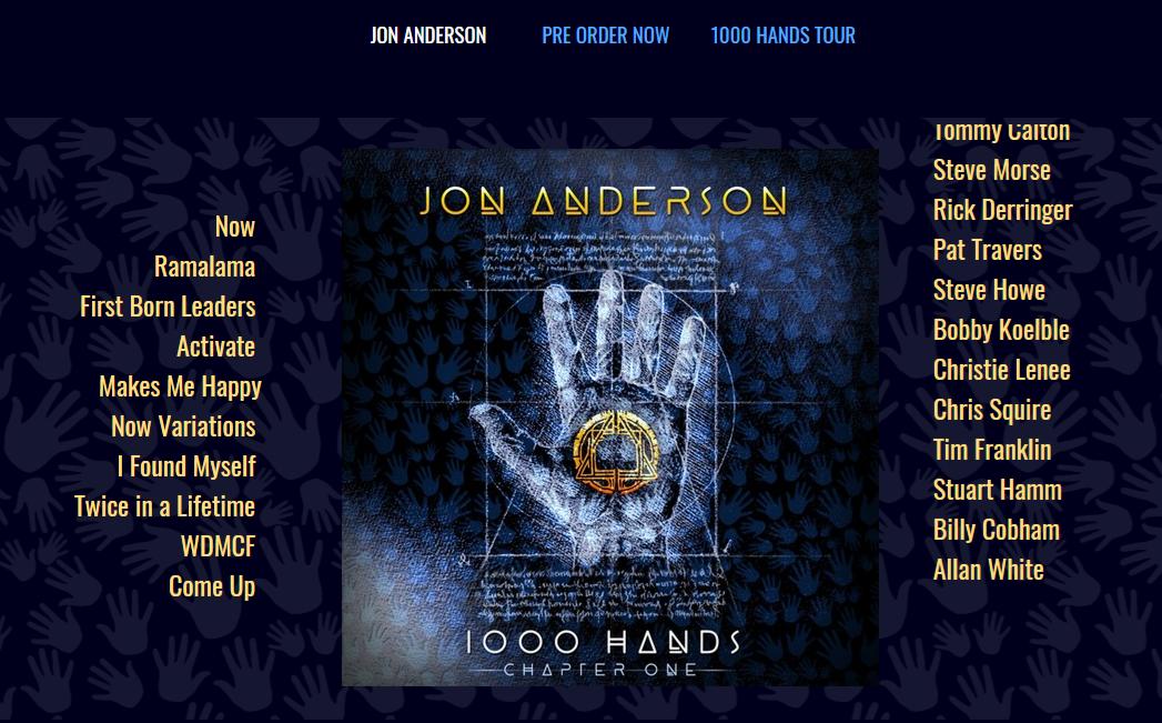 Jon Anderson's 1000 Hands Part 1 – first listen – 374
