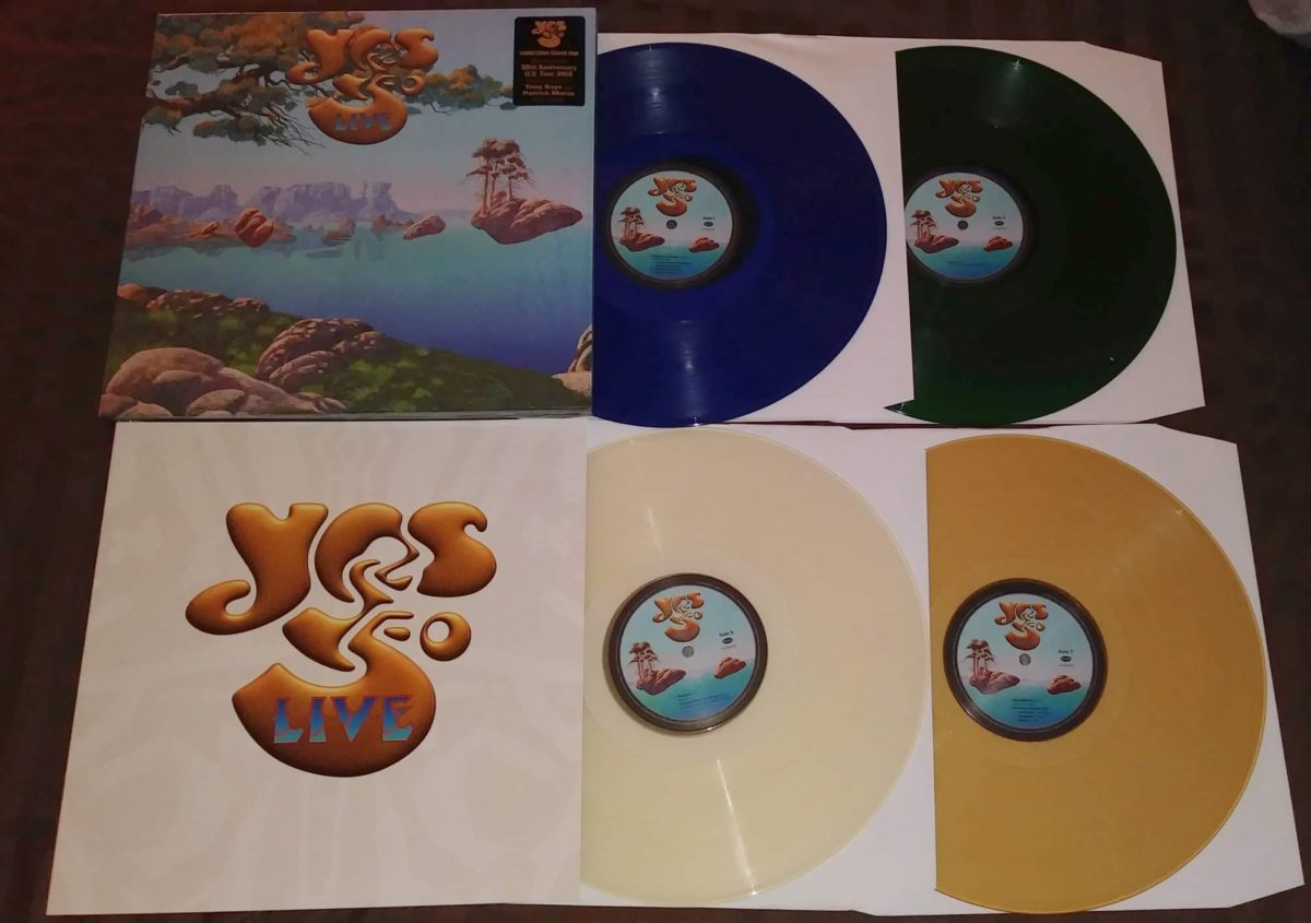 YES50 Live coloured vinyl!