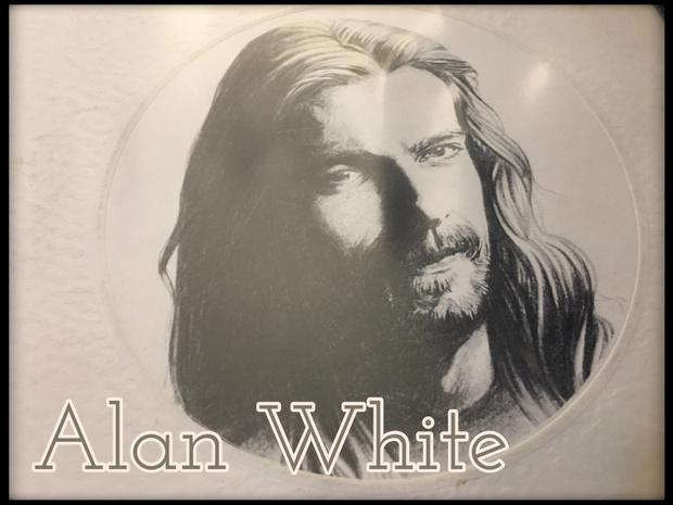 Alan White from the Ramshackled album