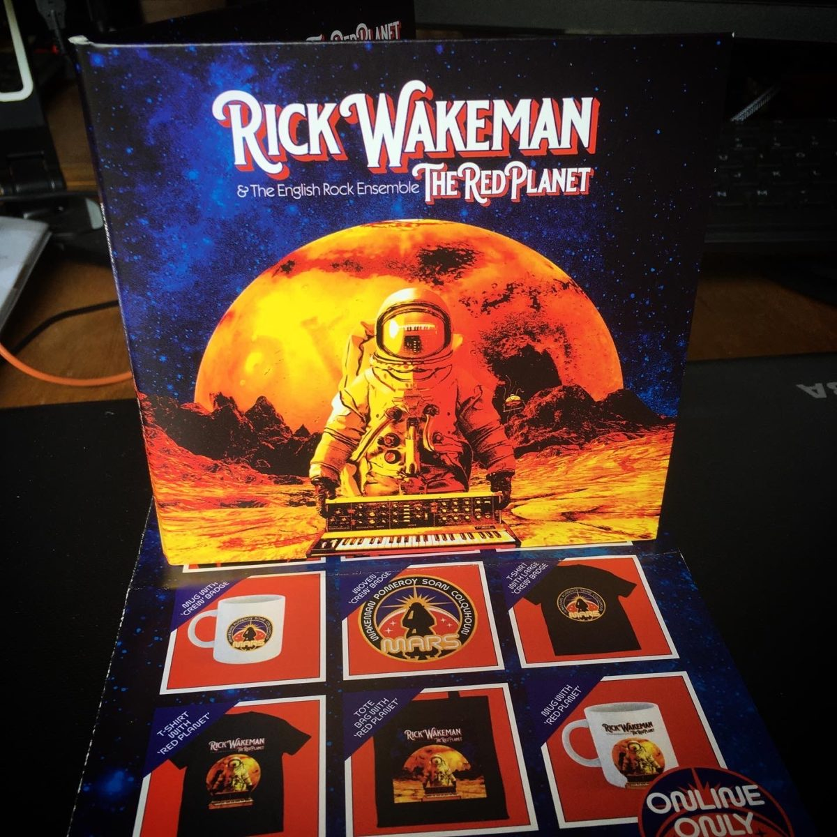 The Red Planet CD packaging
